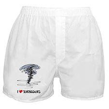 I Love Tornado Boxer Shorts