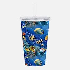 Tropical Fish Acrylic Double-wall Tumbler