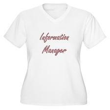 Information Manager Artistic Job Plus Size T-Shirt