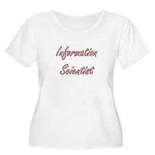 Information Scientist Artistic J Plus Size T-Shirt