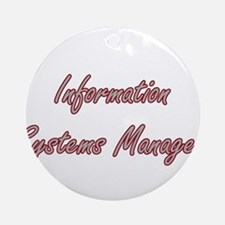 Information Systems Manager Artis Ornament (Round)