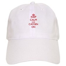 Keep Calm and Cayden ON Baseball Cap