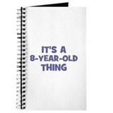 8 year old birthday girl Journals & Spiral Notebooks