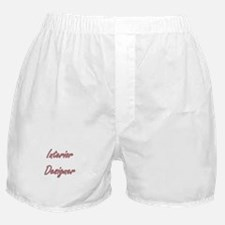 Interior Designer Artistic Job Design Boxer Shorts