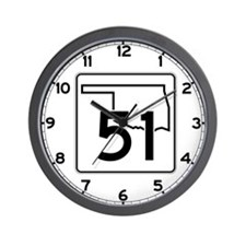 State Highway 51, Oklahoma Wall Clock