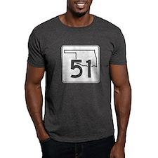 State Highway 51, Oklahoma T-Shirt