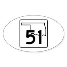 State Highway 51, Oklahoma Decal