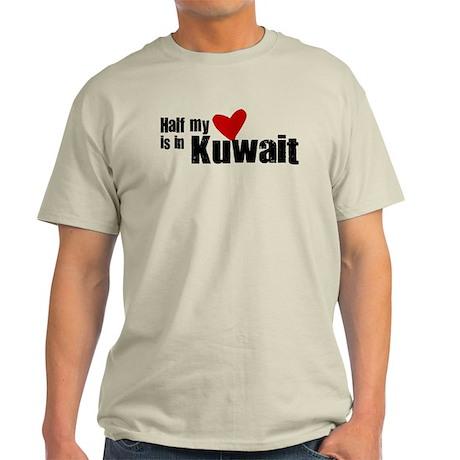 Half my heart Kuwait Light T-Shirt