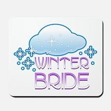 Winter Bride Mousepad