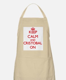 Keep Calm and Cristobal ON Apron