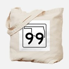 State Highway 99, Oklahoma Tote Bag