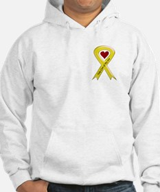 Take Care of my Son Yellow Ribbon Jumper Hoody
