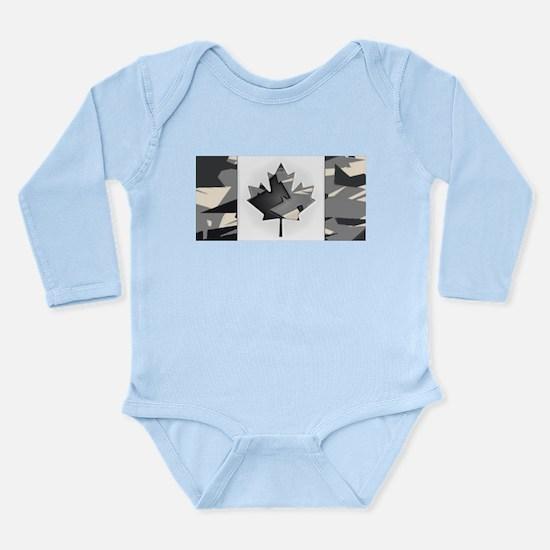 Canadian Flag Naval Ocean Camo Pattern B Body Suit