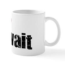 Half my heart Kuwait Small Mug