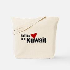 Half my heart Kuwait Tote Bag