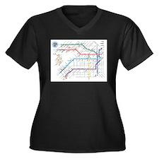 Buenos Aries Underground Subterr Plus Size T-Shirt