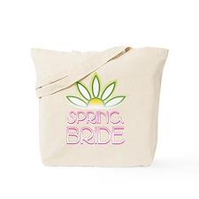 Spring Bride Tote Bag