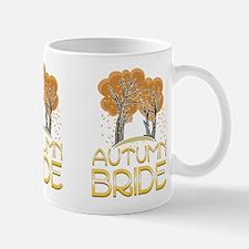 Fall Autumn Bride Mug