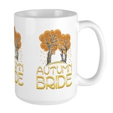 Fall Autumn Bride Mug