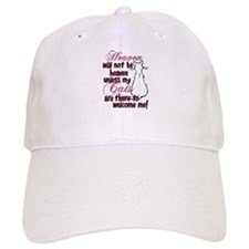 Heaven with no cats? Baseball Cap