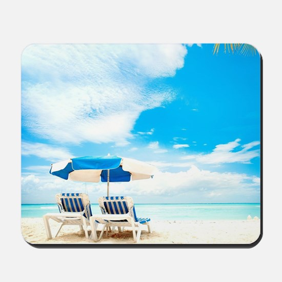 Beach Vacation Mousepad