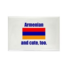 Cute Armenian Rectangle Magnet (100 pack)
