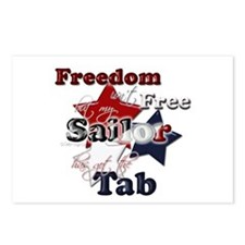 Freedom isn't Free(sailor) Postcards (Package of 8