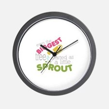 Little Sprout Wall Clock