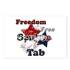 Freedom isn't Free (seabee) Postcards (Package of