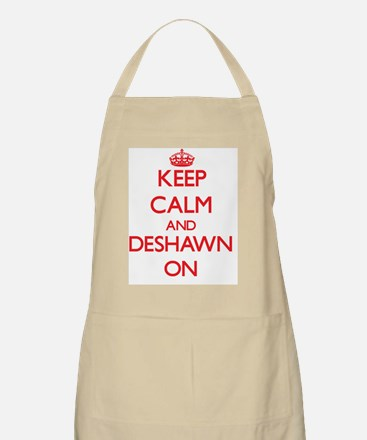 Keep Calm and Deshawn ON Apron