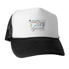 Buenos Aries Underground Subterraneo S Trucker Hat