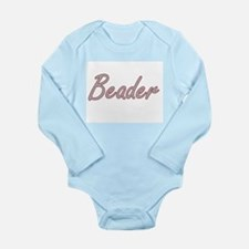 Beader Artistic Job Design Body Suit