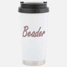 Beader Artistic Job Des Travel Mug