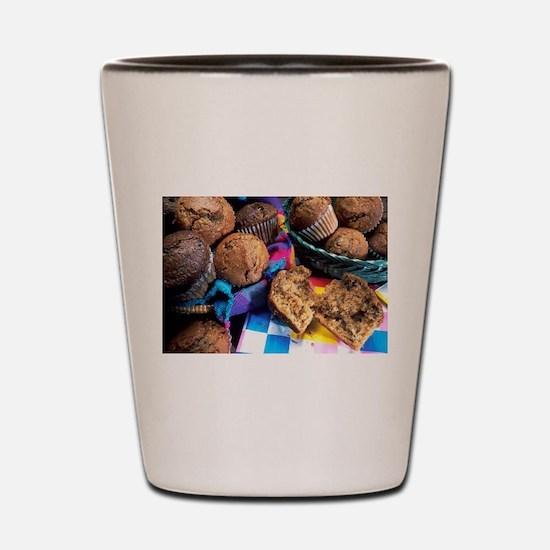 Muffins Shot Glass