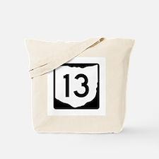 State Route 13, Ohio Tote Bag