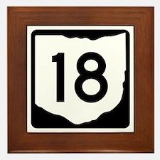State Route 18, Ohio Framed Tile