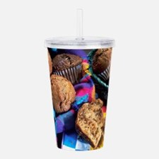 Muffins Acrylic Double-wall Tumbler