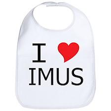 I Heart Imus Bib