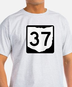 State Route 37, Ohio T-Shirt