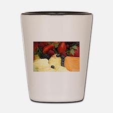 Mixed Fruit Shot Glass