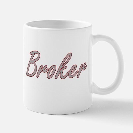 Broker Artistic Job Design Mugs