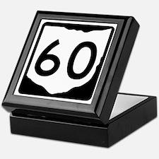 State Route 60, Ohio Keepsake Box
