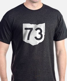 State Route 73, Ohio T-Shirt