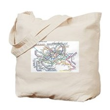 Cute Metropolitan Tote Bag