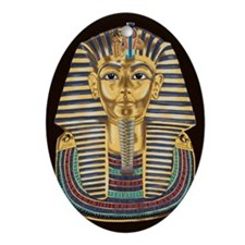 Tutankhamon's Mask Ornament (Oval)
