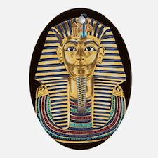 Tutankhamon's Mask Ornament (Oval)