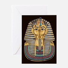 Tutankhamon's Mask Greeting Cards