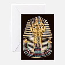 Tutankhamon's Mask Greeting Cards