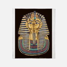 Tutankhamon's Mask Throw Blanket