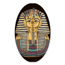 Tutankhamon's Mask Decal